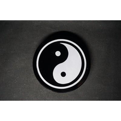 Yin Yang Miroir obsidienne