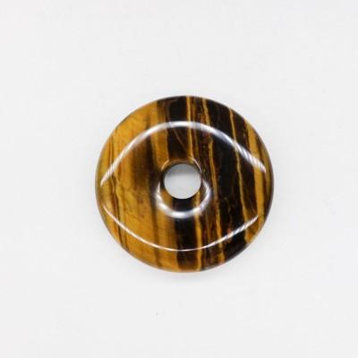 Pendentif Donut oeil de tigre