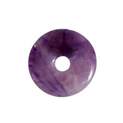 Pendentif Améthyste donut
