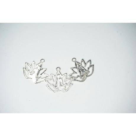 Fleur de lotus en métal