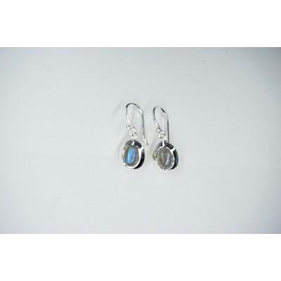 Boucles d'oreilles Labradorite