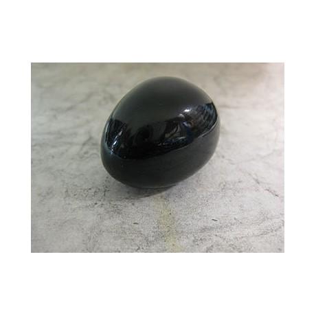 Pierre roulée obsidienne Noire