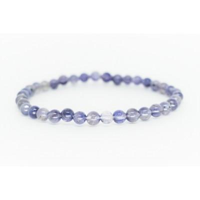 Bracelet Iolite 5 mm