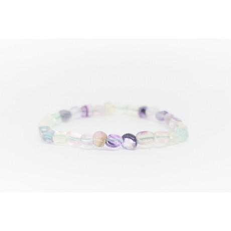 Bracelet Fluorite petit galet