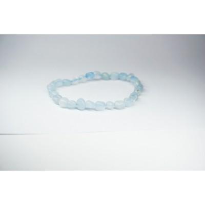 Bracelet Aigue Marine petit galet