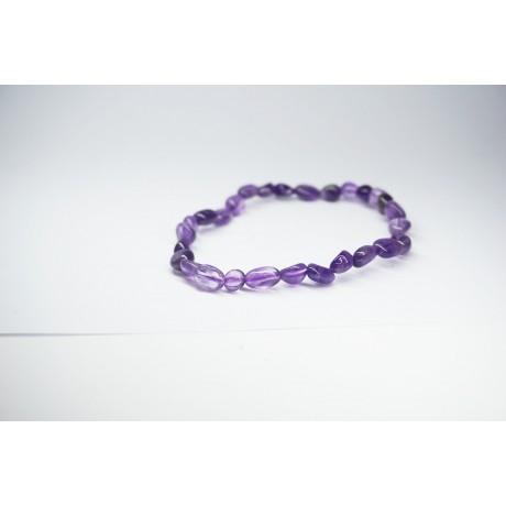 Bracelet Améthyste petit galet