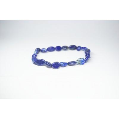 Bracelet Lapis lazuli petit galet