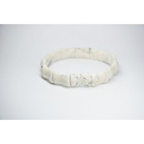 Bracelet Howlite Bambou