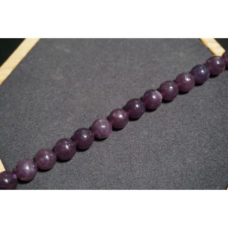 Fils de Lepidolite - Mexico Obsidienne