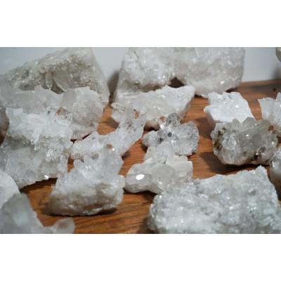 Cristal de quartz en macle