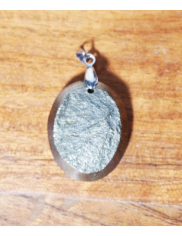 Pendentif Pyrite druzy