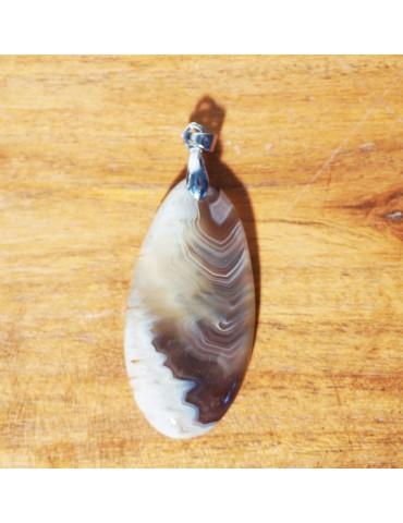 Pendentif Agate Botswana