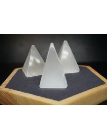 Pyramide de Sélénite 4 cm
