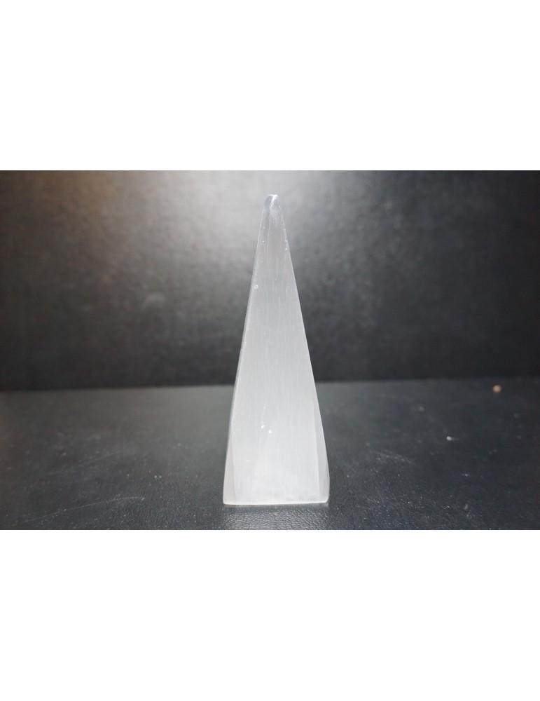 Pyramide de Sélénite 10cm