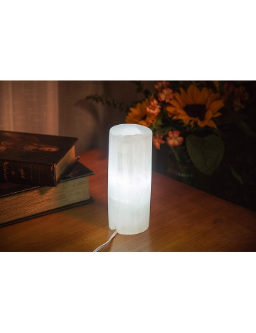 Lampe Polie 35 cm en sélénite