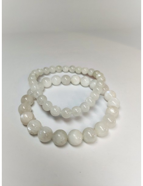 Bracelet Labradorite Blanche